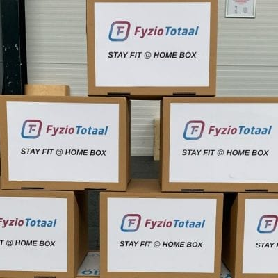 Stay fit @ home box